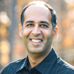 Photo of Vinay Sakhrani VP of Technology Co-Founder TriboFilm Research Co-Inventor of StaClear